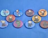 AVENGERS Buttons!