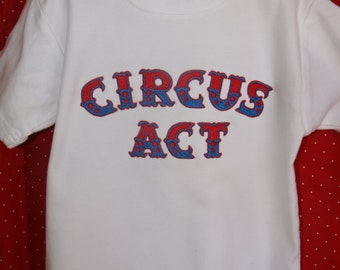 Embroidered Circus Tee Shirt
