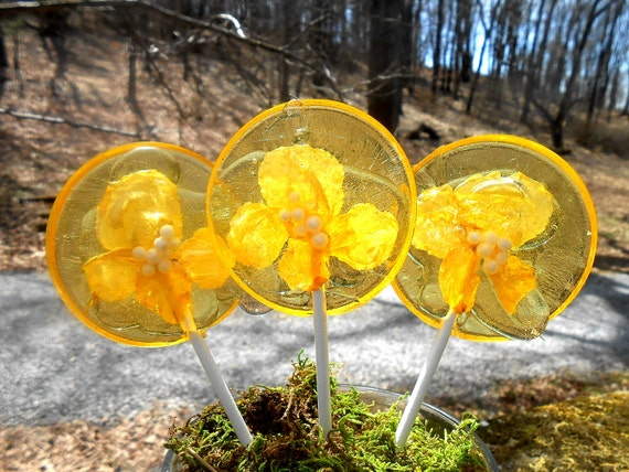 Banana Organic Lollipops on Etsy
