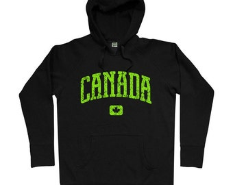 Canada Hoodie - Men S M L XL 2x 3x - Canadian Hoody Sweatshirt - 4 Colors