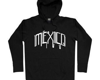 Mexico Mech Hoodie - Men S M L XL 2x 3x - Mexico Hoody Sweatshirt - 4 Colors
