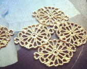 20PCS Vintage Style Brass Filigree Charm Findings Connector19x12mm