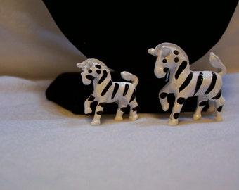 Zebra, Zebra Brooch, # 56