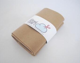 100% Wool Felt Roll - 12x90cm - Pebble