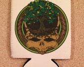 Bodhi Tree Grateful Dead Beer Koozie