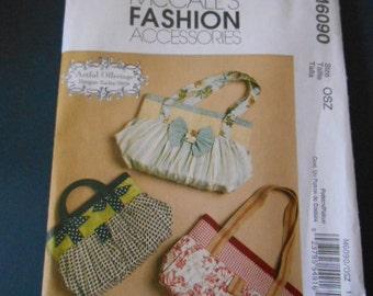 McCalls 6090, Purse sewing pattern
