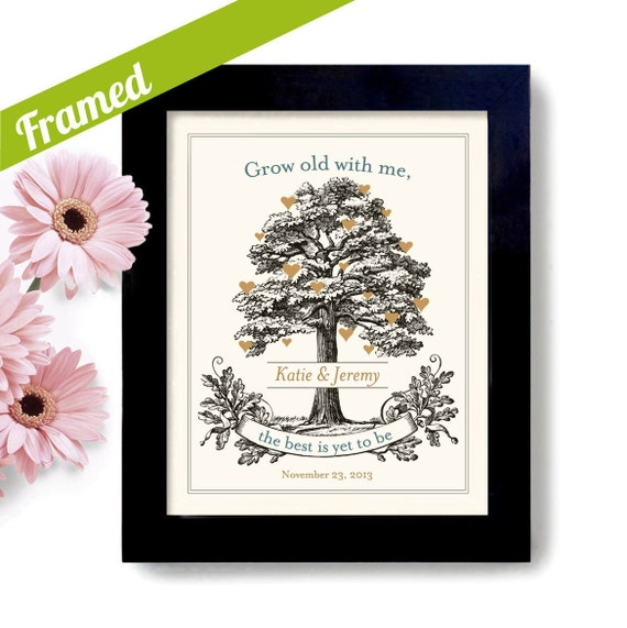 Unique Wedding Gifts For Older Couples : Unique Engagement Gift, Personalized Wedding Gift, for Couples ...