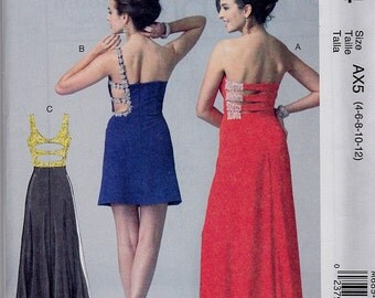 Evening gown dress patterns