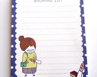 Nona Shopping List Memo Pad //SALE//