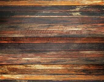 LARGE 10ft x 10ft Old Grungy Dark Floor Floordrop Vinyl Backdrops / Long Panels