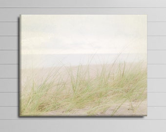 Coastal Wall Art, Large Photography, Seaside Canvas, Beach House Decor, 16x20 Gallery Wrapped Canvas