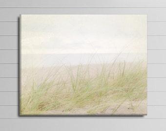 Coastal Wall Art, Large Photography, Seaside Canvas, Beach House Decor, 16x20 Gallery Wrapped Canvas