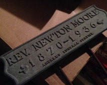 Antique Grave Marker 1936