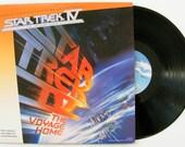 Star Trek IV: The Voyage Home (Original Motion Picture Soundtrack) Vinyl Record Vintage