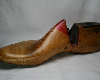 Vintage Wood Shoe Form