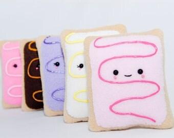 Pop Tart Plushy-Pop Tart Cushion-Squishy-Kawaii-Toy-Pop Tart-Gift-Food Plushy