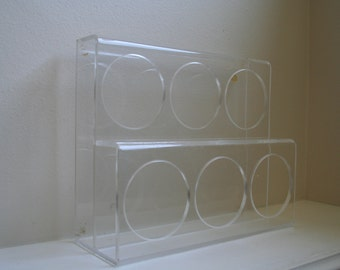 Thick Lucite Acrylic Mod Holder