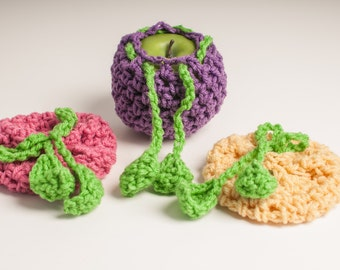 Spring 3 Pack of Apple Cozies US Shipping Included - Youtubed