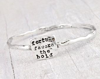 Fortune Bangle - Inspirational Jewelry - B375