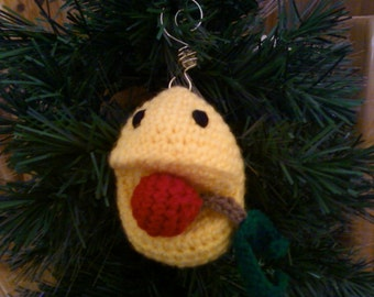 Pac Man Inspired Ornament