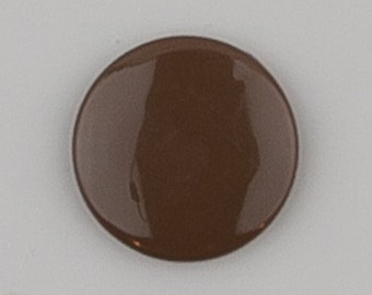G72 Chocolate for Cloth Diapers/Bibs/Crafts/Plastic Snap Buttons Brown