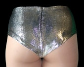 Limited Edition (just 3 available) Silver Velvet Cheekie Pants- Lingerie