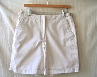 Vintage Women's Khaki Shorts, Liz Claiborne, Size 10, In very good condition