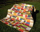 Modern Solids Bed Quilt