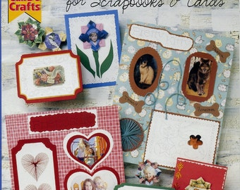 Fold and  stitch: For scrapbooks and cards Can do crafts