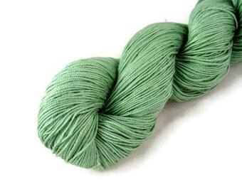 Silk Yarn LaceWeight, Maharaja Silk yarn, Sage Green