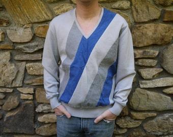 Vintage V Neck Wool Sweater