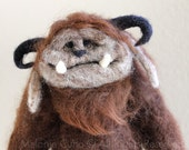 MADE TO ORDER- Needle felted monster