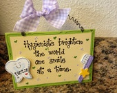 Dental Hygienists sign country wood crafts office decor tooth toothbrush Graduation Promotion gift