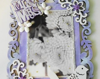 Wedding Wall Hanging- Mr. & Mrs. Picture Frame