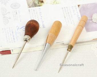 1 Pcs of AWL Needle Felting Awl - Needle felting tool - Wood Awl for Needle Felting - Needle Felting Tool - Doll Eyes Opener (T129)