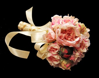 Bridal Bouquet - Peony Blossoms