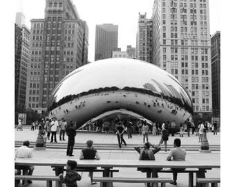 Chicago Bean 1 Photo Print