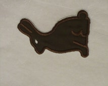 chocolate bunny patch/ Easter bunny patch