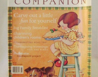 Mary Engelbreit Home Companion Magazine October/November 1997 Edition