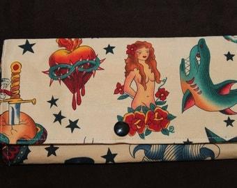 Sailor Tattoo Wallet