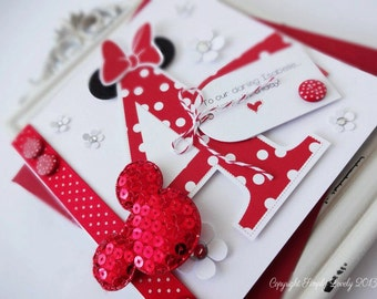 Minnie Birthday Card!