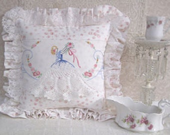 Southern Lady Pillow