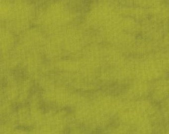 From Outside In by Malka Dubrawsky for Moda  -  Hand Dyed Light Green Solid - FQ Fat Quarter cotton quilt fabric 516