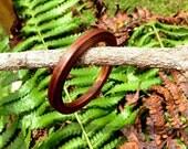 Koa Wood Laminated Bangle Bracelet