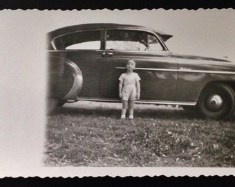 Original Antique Photograph Sweet Jimmy Poses by Auto