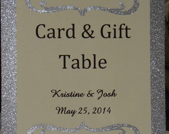 Wedding Card & Gift Table Sign -  - Customized
