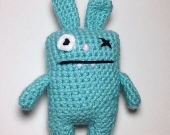 Uglies Plush - Light Blue Rabbit