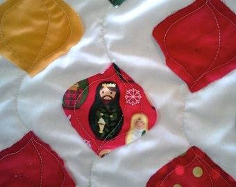 Christmas Quilt - Matryoshka Doll Quilt