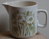 1970s Hornsea Fleur milk jug