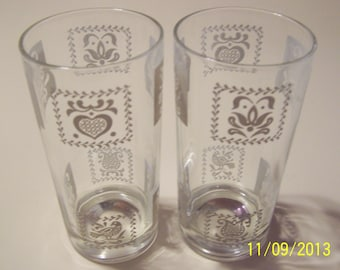 Two Drinking Glasses from the Past